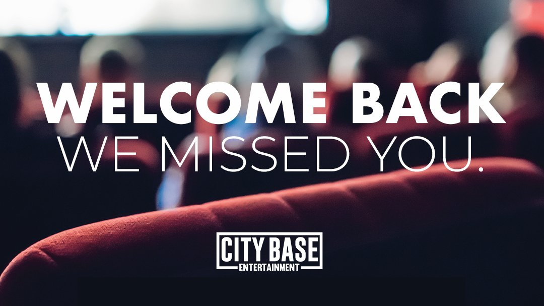 We missed you