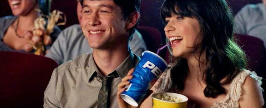 couple watching movie photo